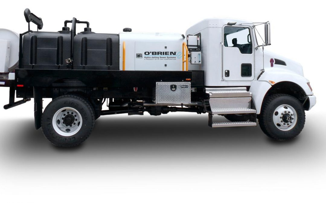 7000-T Truck Mounted Jetter Series